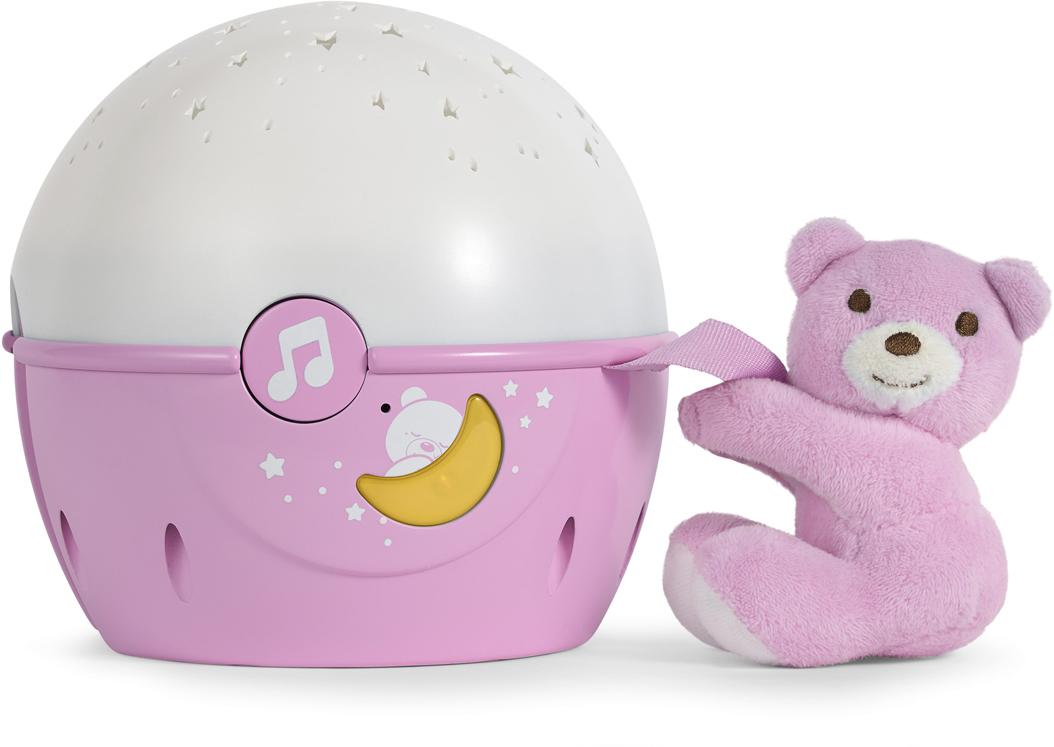 Фото - Chicco Ночник детский Проектор Next-2-Starts цвет розовый проектор