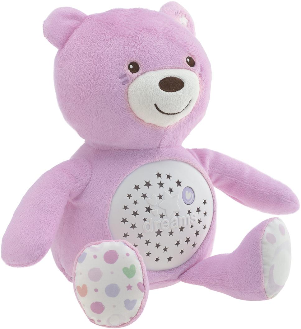 Chicco Развивающая игрушка Мишка цвет розовый музыкальная подвеска на кроватку chicco чико спокойной ночи цвет розовый
