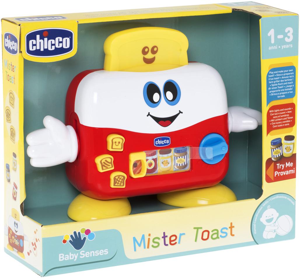 Chicco Развивающая игрушка Mr Toast chicco развивающая игрушка mr ring