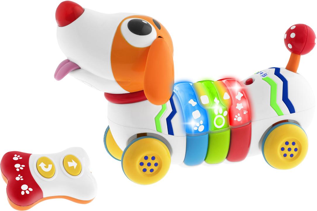 Chicco Развивающая игрушка Собачка Remi chicco развивающая игрушка собака детектив