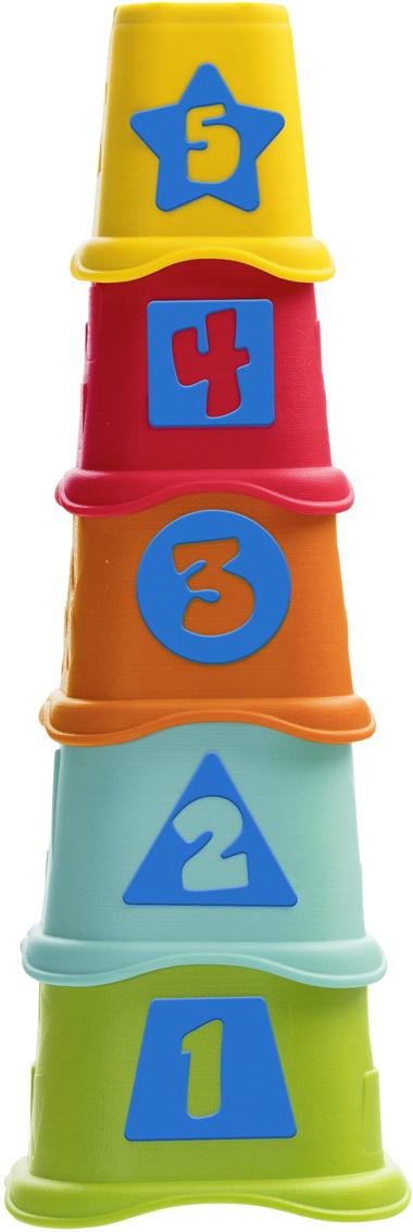 Chicco Пирамидка Stacking Cups цена