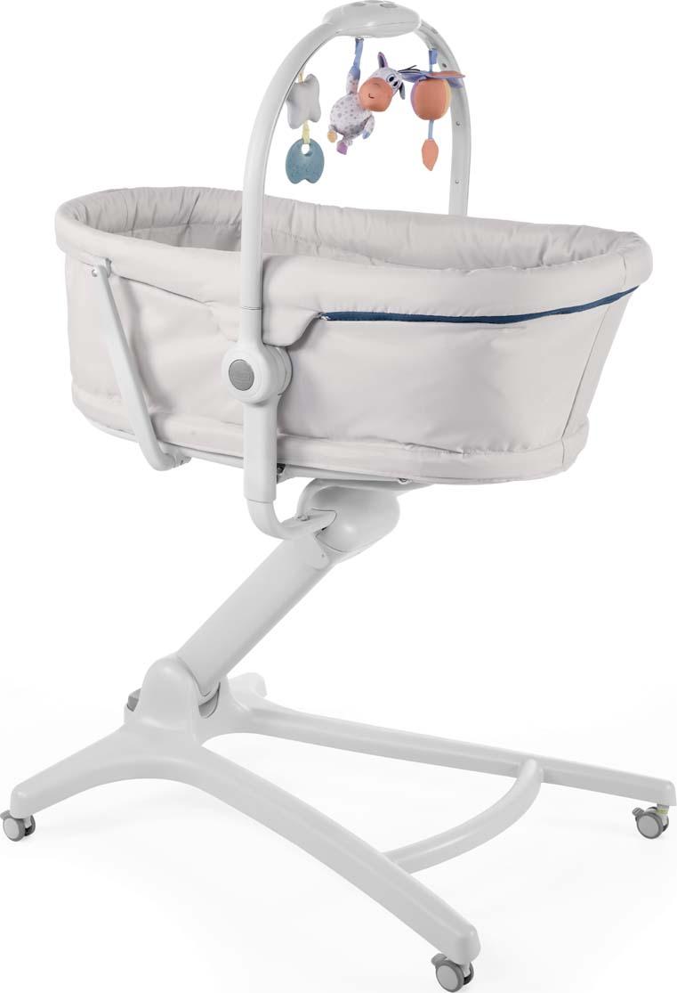 Chicco Кроватка-стульчик Baby Hug 4in1 Glacial