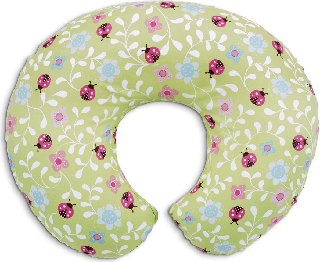 Подушка для кормления Boppy Ladybug Lane chicco chicco подушка для кормления boppy с 2 х сторонним чехлом little lady