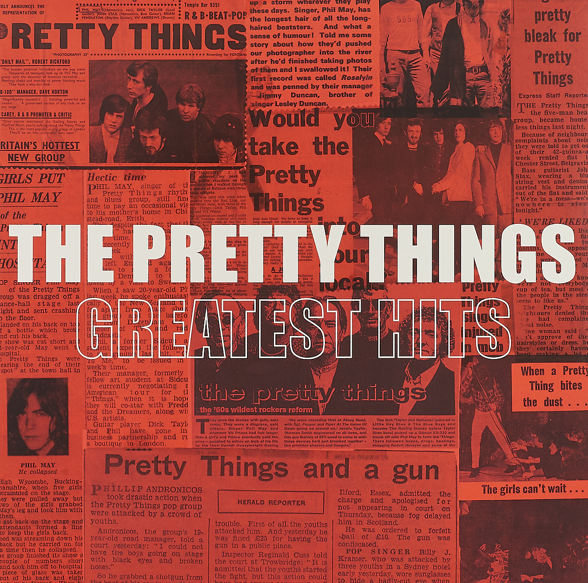 The Pretty Things The Pretty Things. Greatest Hits (2 LP) лаура паузини laura pausini 20 the greatest hits 2 cd