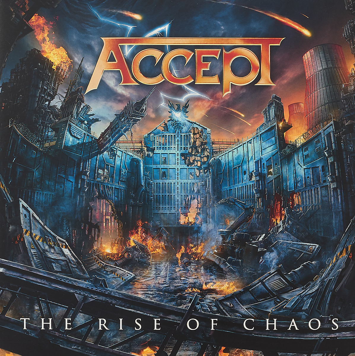 Accept Accept. The Rise Of Chaos (BLACK VINYL) (2 LP) the hand of chaos