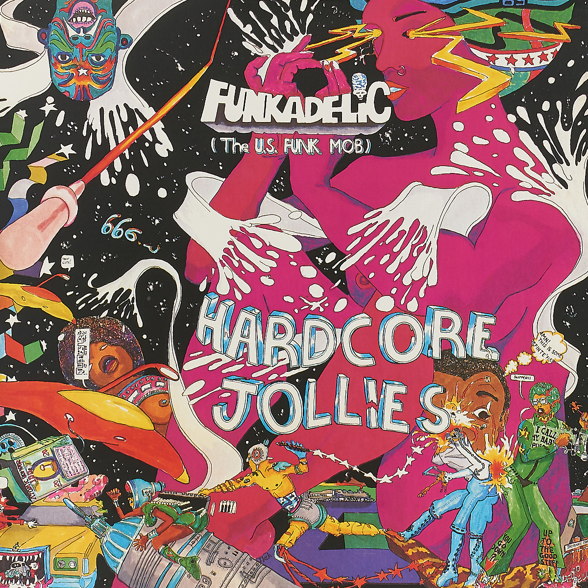 Funkadelic Funkadelic. Hardcore Jollies (LP) funkadelic funkadelic the electric spanking of war babies lp