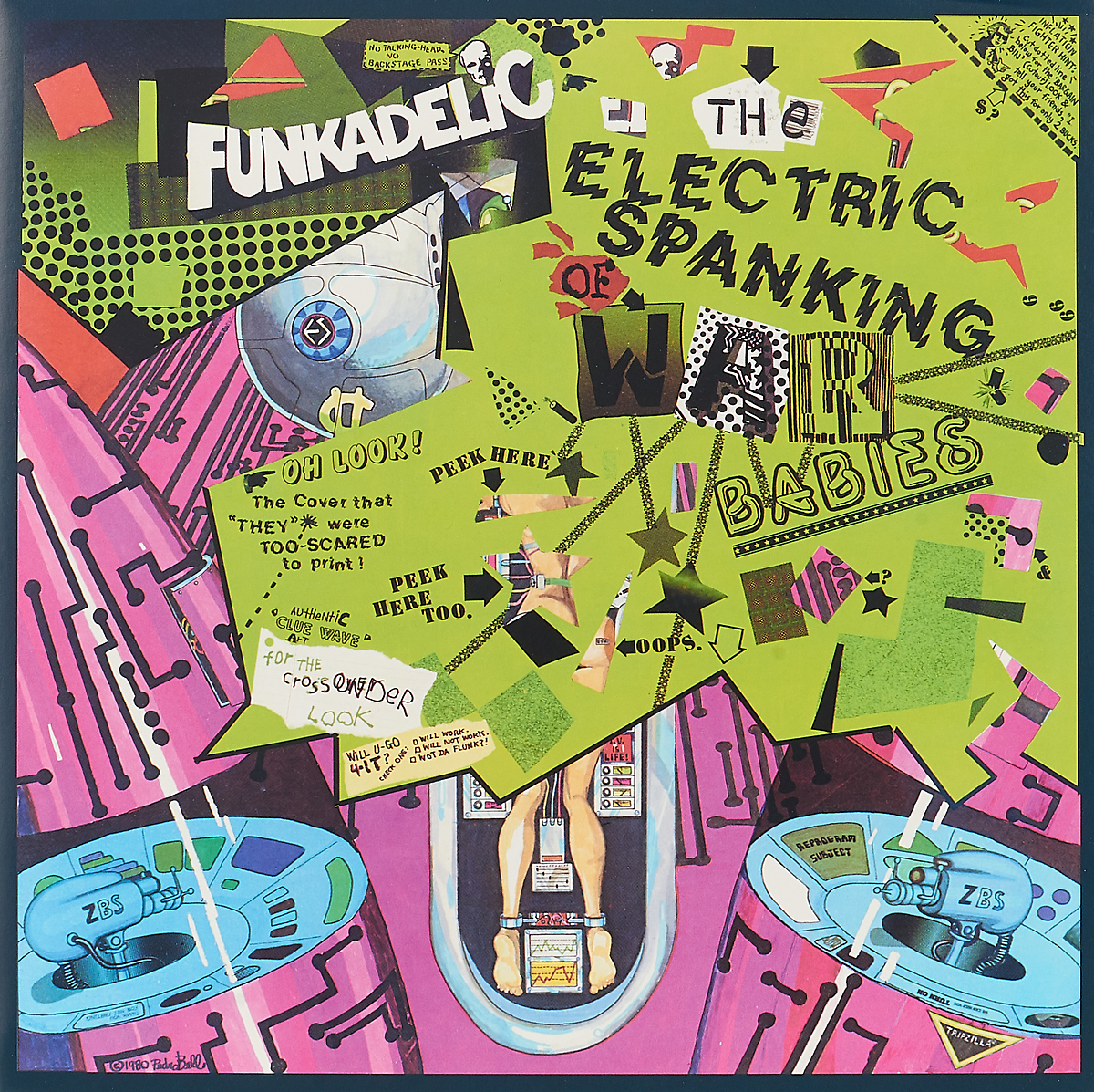Funkadelic Funkadelic. The Electric Spanking Of War Babies (LP) funkadelic funkadelic the electric spanking of war babies lp