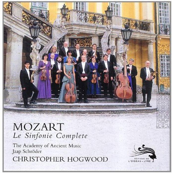 Кристофер Хогвуд Christopher Hogwood. Mozart. Le Sinfonie Complete кристофер хогвуд the academy of ancient music pachelbel christopher hogwood canon