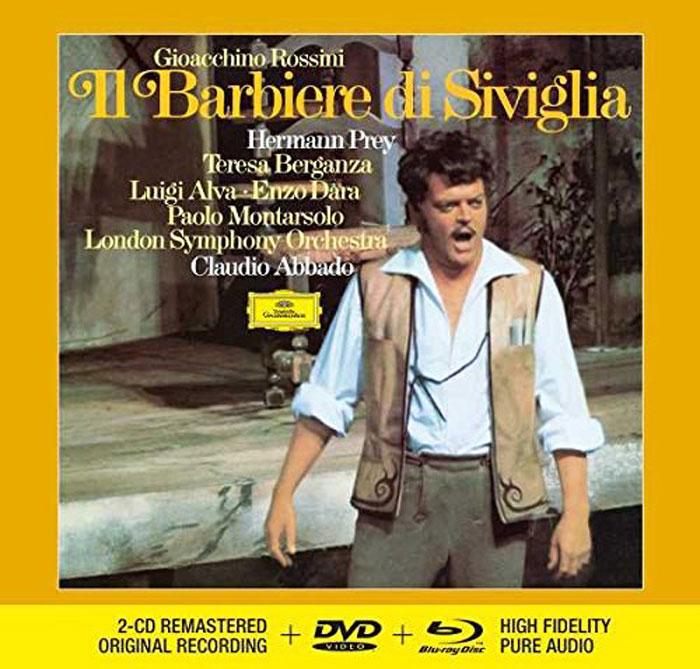 Клаудио Аббадо Claudio Abbado. Rossini. Il Barbiere Di Siviglia (2 CD + DVD + Blu-ray)