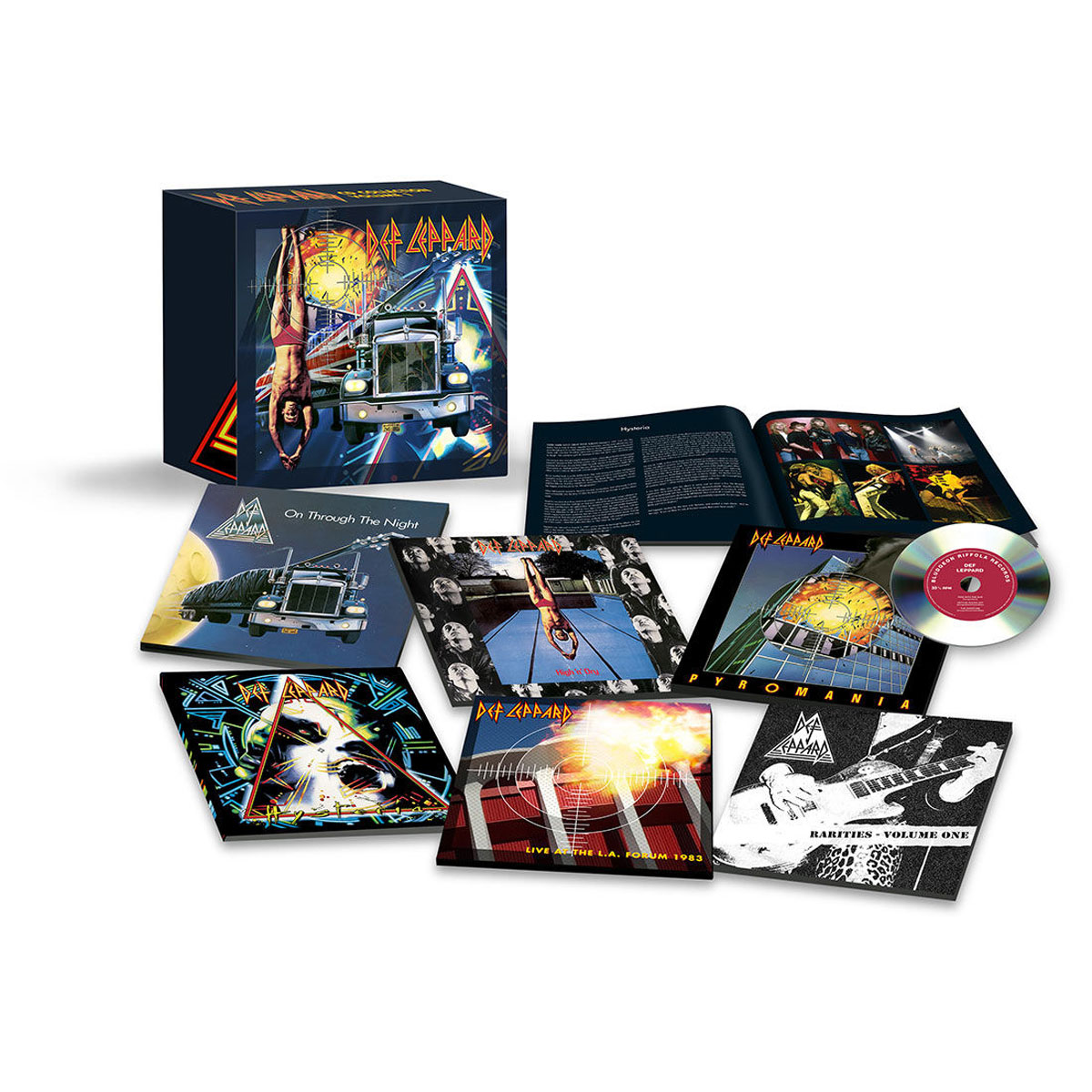 Def Leppard Def Leppard. Volume One (7 CD) def leppard def leppard vault greatest hits 2 lp