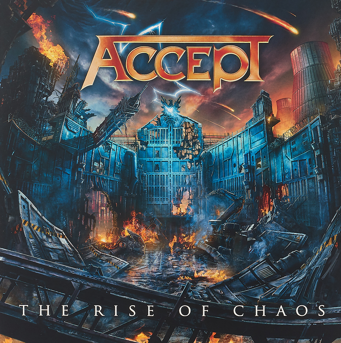 Accept Accept. The Rise Of Chaos (2 LP) chaos панама chaos stratus sombrero