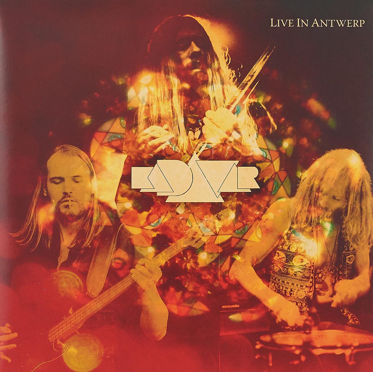 Kadavar Kadavar. Live In Antwerp (2 LP) kadavar bielefeld