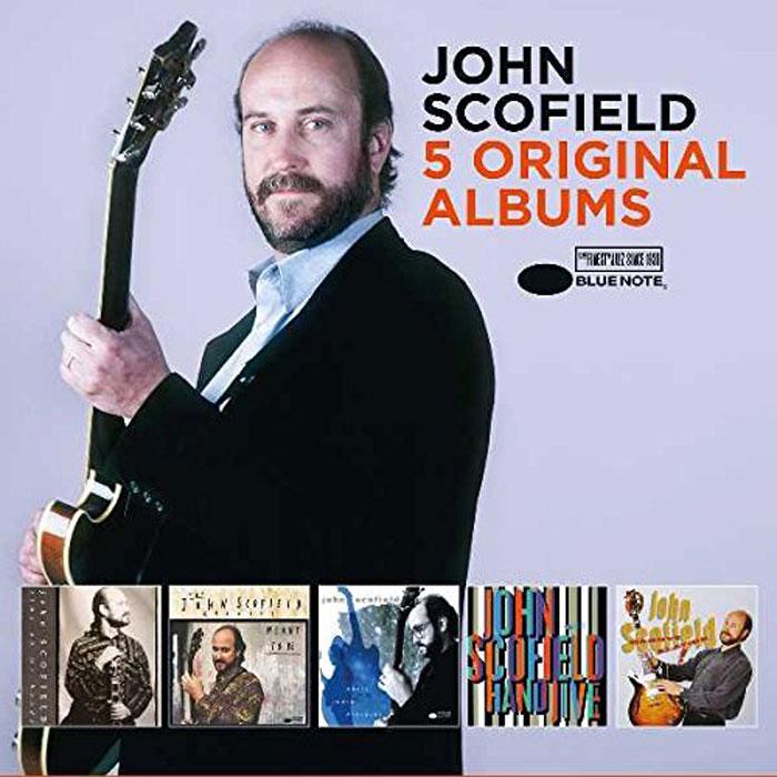 Джон Скофилд John Scofield. Original Albums (5 CD) джордж бенсон george benson 5 original albums 5 cd