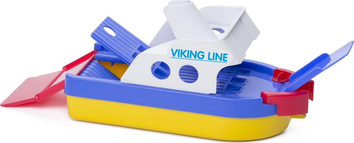 Viking Toys Игровой набор Паром на колесиках с 2 трапами игровые коврики viking toys сумка коврик город с 2 машинками 90х70 см