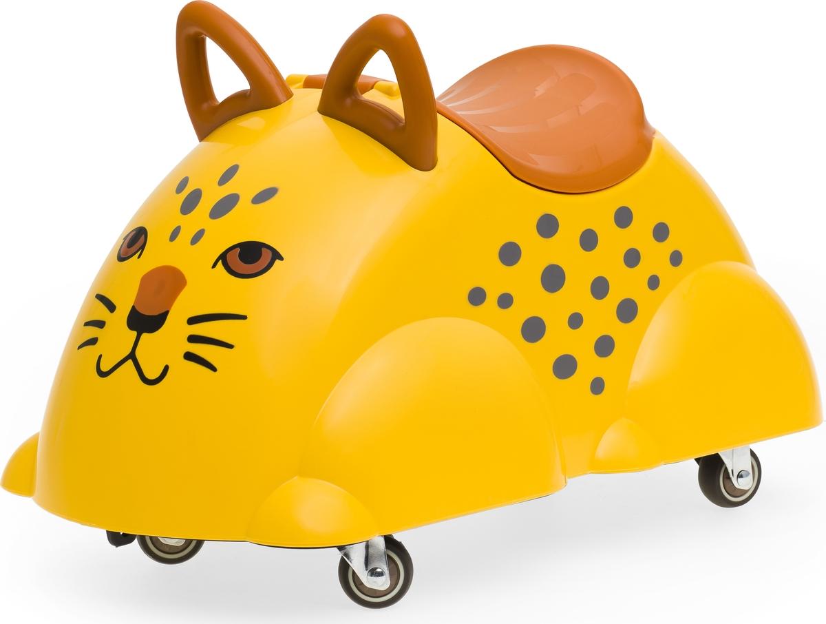 Viking Toys Игрушка-каталка Леопард игровые коврики viking toys сумка коврик город с 2 машинками 90х70 см