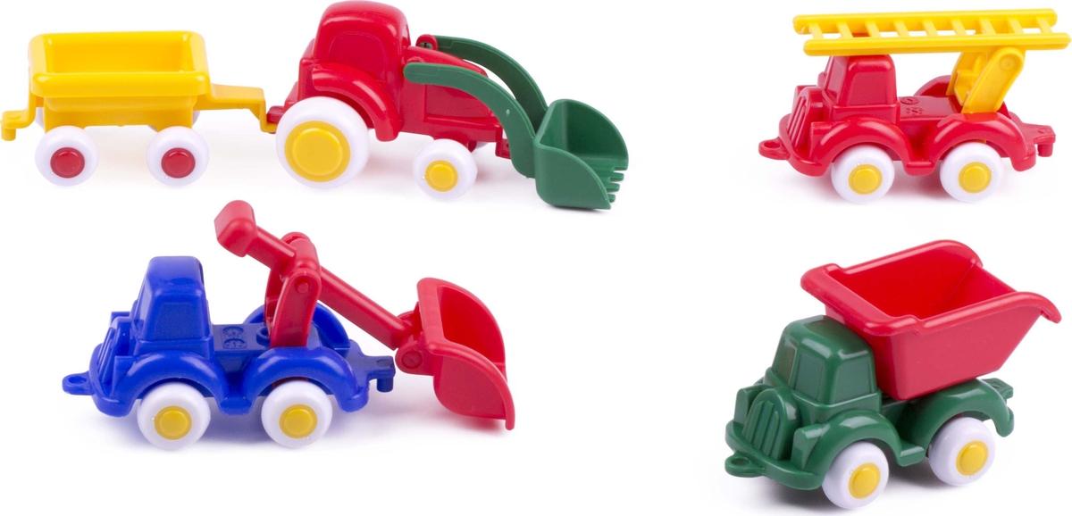 Viking Toys Игровой набор Мини спецтехника 5 предметов
