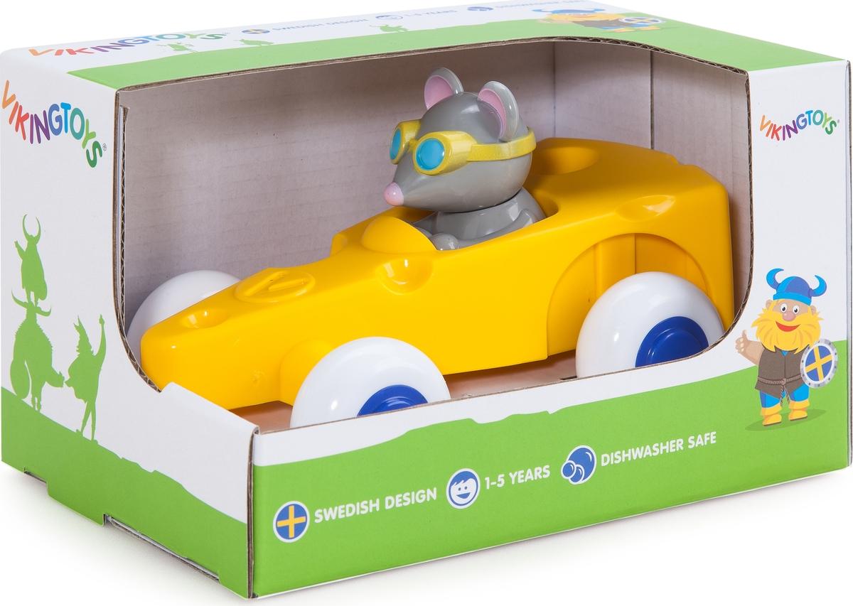 Viking Toys Машинка Сыр с Мышкой игрушка для собак уют сыр с мышкой 11 x 5 см