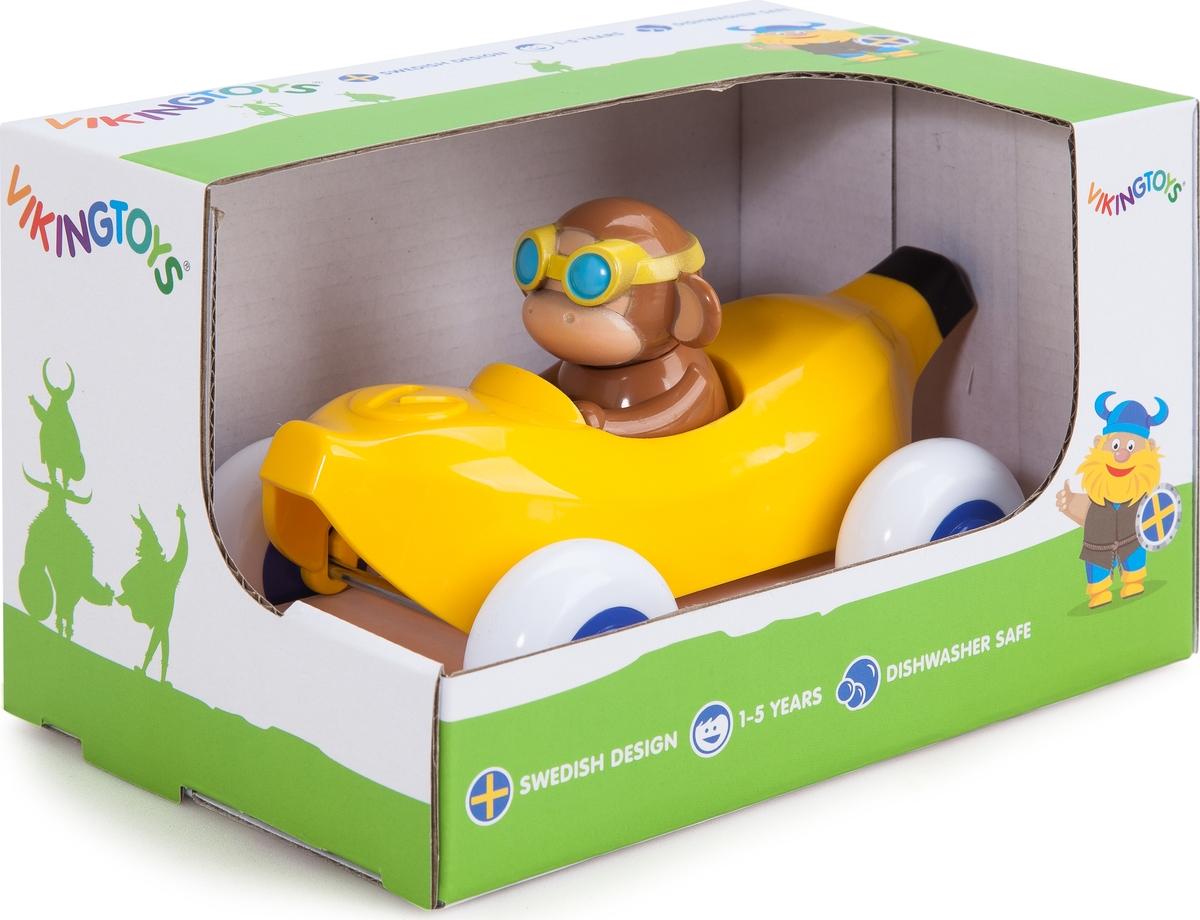 Viking Toys Машинка Банан с Мартышкой игровые коврики viking toys сумка коврик город с 2 машинками 90х70 см