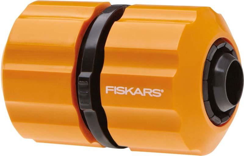 Муфта ремонтная для шланга Fiskars, 3/4 дюйма муфта для шланга green apple есо соединительная 19 мм 3 4