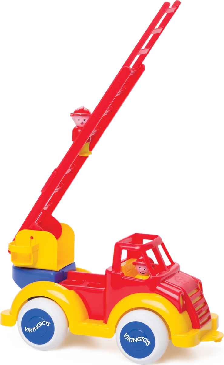 Viking Toys Пожарная машина с лестницей и двумя фигурками 1511