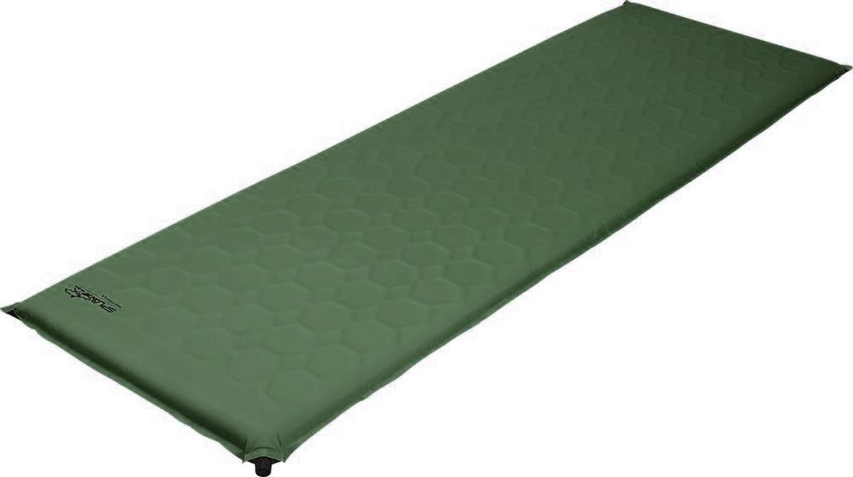 """Коврик самонадувающийся Сплав """"Maxi Camp 3"""", цвет: оливковый, 198 x 64 x 3 см"""