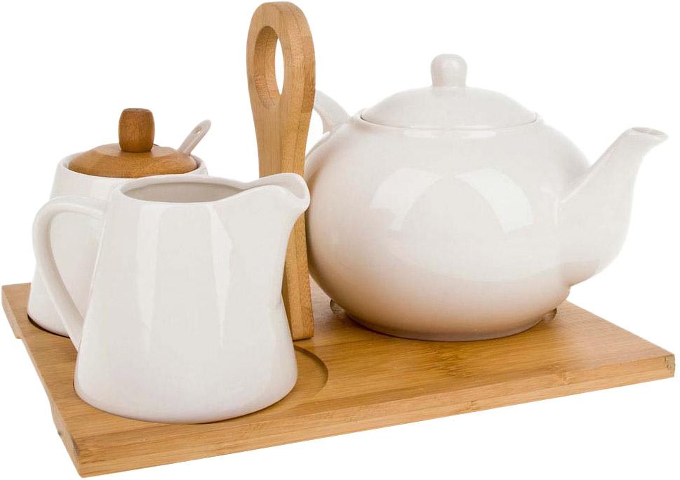 Набор посуды BHP Naturel, 5 предметов чайник 250 мл elff decoration чайник 250 мл
