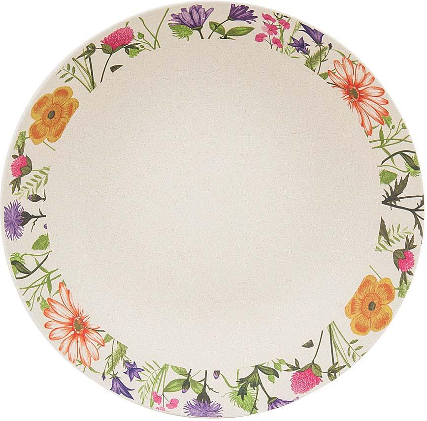Суповая тарелка из бамбукового волокна - это экологически чистая и безопасная для всех посуда для ежедневного использования и отдыха.