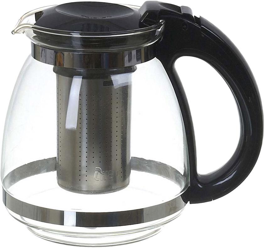 Чайник заварочный Lilac, с фильтром, 1,5 л. 5520006 чайник заварочный bekker koch с фильтром цвет красный 1 25 л
