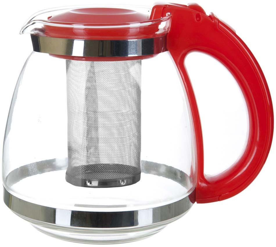 Заварочный чайник с металлическим фильтром - универсальный предмет для любой кухни.