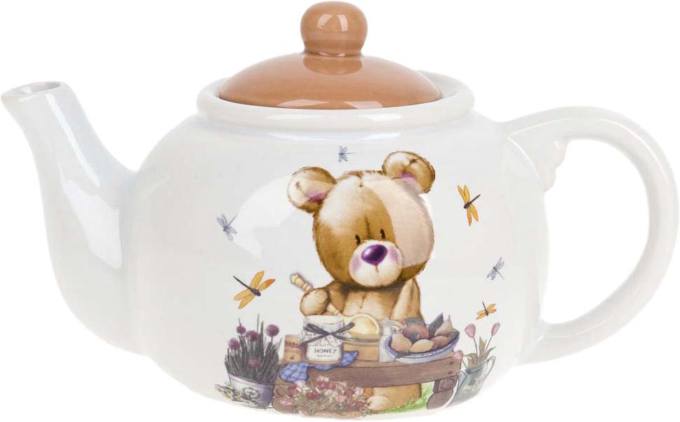 """Заварочный чайник """"Berny"""" изготовлен из качественной керамики.Универсальный орнамент подойдет к любому интерьеру."""
