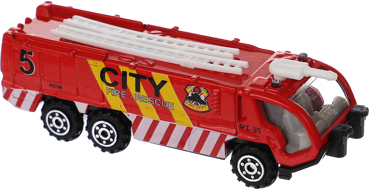 Pioneer Toys Машинка Street Machine CITY цвет красный lepin 15005 corner department store 10211 city street series model building block brick kits assembling gift toys