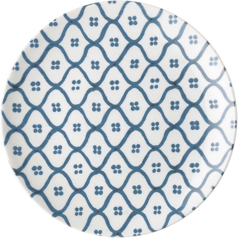 """Два молодых дизайнера, Ева Манкузо и Йолита Манолова, объединили свои усилия по воплощению традиционных средиземноморских мотивов в современной коллекции посуды """"Le Maioliche"""". Майолика - это разновидность керамики, которую изготавливают из обожженной глины и глазури. Своего расцвета эта техника достигла в Италии в эпоху Возрождения, а сегодня её живописный вид и яркую энергию передает посуда, в название которой попали женские итальянские имена - Агата, Кармела, Кончетта, Иммаколата, Мария и Розалия. Шесть имен символизируют шесть разных историй о минувших днях, к которым теперь мы можем прикоснуться за большим обеденным столом.Диаметр десертной тарелки - 19,7 см. Можно мыть в посудомоечной машине, пригодна для использования в микроволновой печи."""