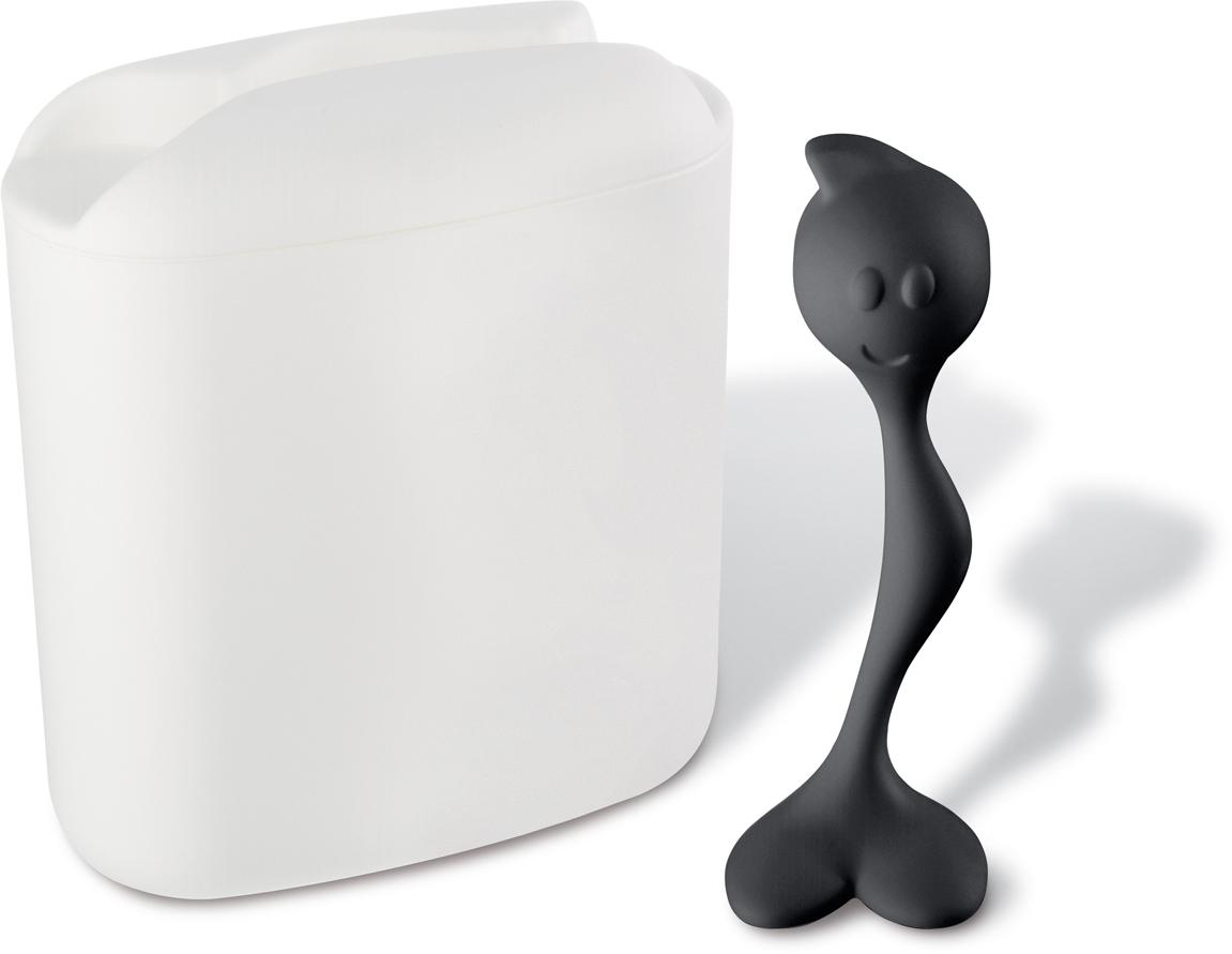 Герметичные контейнеры для хранения HOT STUFF компактны в хранении и универсальны в использовании: они сохраняют продукты от света и сырости, поэтому подходят и для круп, и для макарон, а также для кофе, который не потеряет свой аромат. В комплекте ложка, которая удобно крепится к крышке контейнера.   Особенности: - доступны в двух размерах: L (1,5л), M (350 мл) - ложка в комплекте - занимает мало места - не подходит для горячей еды