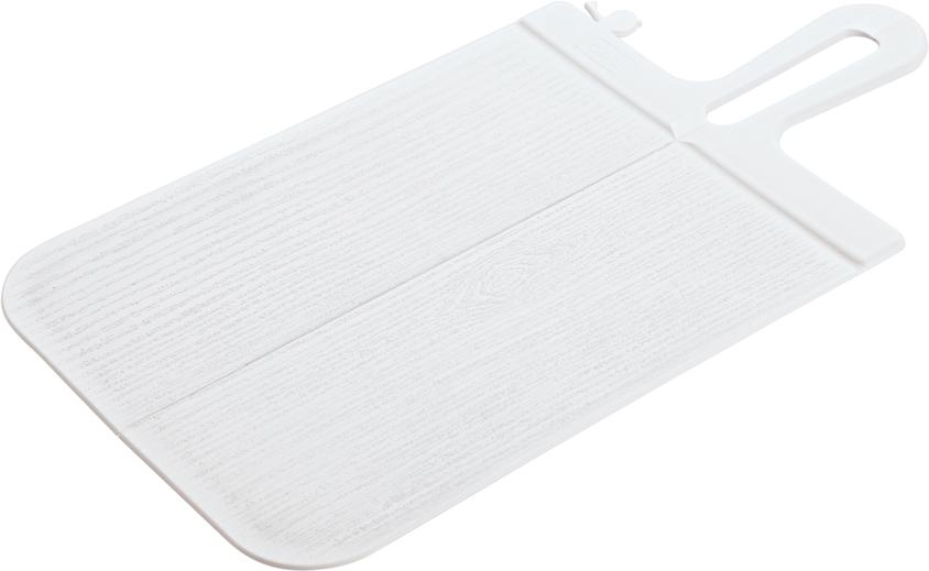 Доска разделочная Koziol Snap, цвет: белый, 0,5 х 33,1 х 16,6 см
