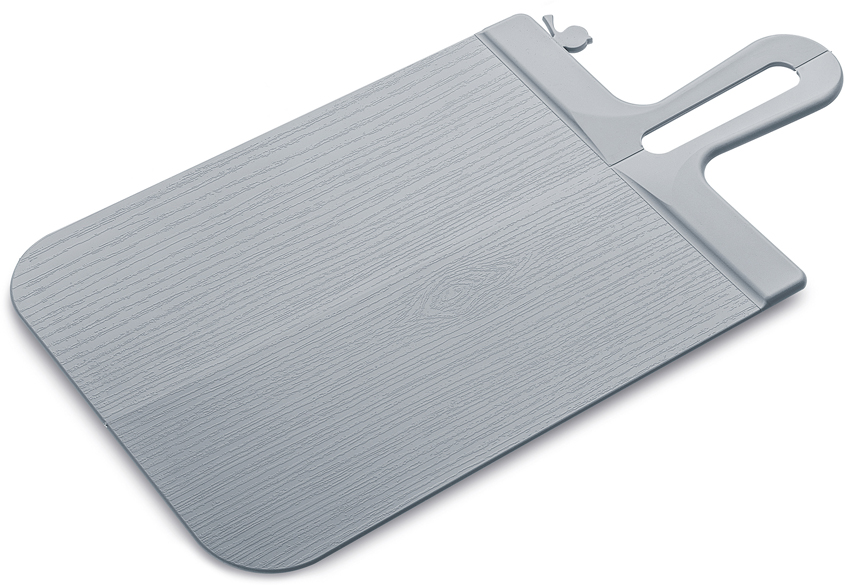Доска разделочная Koziol Snap, цвет: серый, 0,5 х 33,1 х 16,6 см разделочные доски bohmann доска разделочная 33 7 на 27 6 см