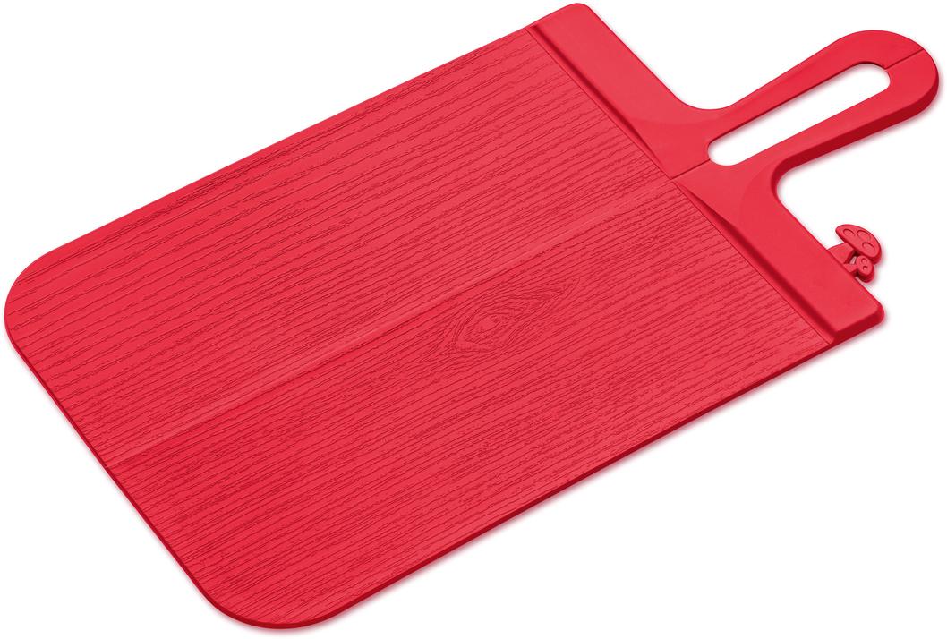 Разделочные доски SNAP станут самыми внимательными помощниками на кухне. С ними ничего не просыплется мимо: сгиб доски посередине позволит аккуратно высыпать нарезанные продукты прямо в кастрюлю.    Особенности: - функциональный дизайн - эргономичная ручка регулирует удобный угол сгиба - не затупляет ножи