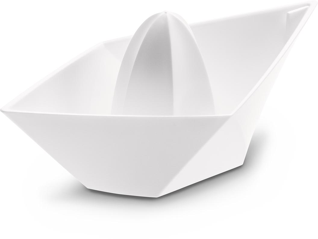 Соковыжималка для лимонов AHOI в виде кораблика идеально подойдет для выжимания сока из маленьких цитрусовых, например, лимона или лайма. За счет заостренных концов соковыжималки сок удобно добавлять в различные блюда во время готовки.   Особенности: - не содержит меламин - можно мыть в посудомоечной машине
