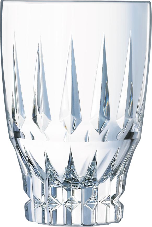 Коллекция ORNEMENTS украшена симметричными вертикальными разрезами. Набор стаканов выполнен из высококачественного бессвинцового хрустального стекла и отличается высокой прочностью и прозрачностью. Предназначен для употребления широкого ассортимента холодных напитков, а также будет отличным решением для подачи коктейлей.