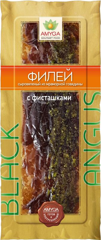 Amyga Филей сыровяленый из мраморной Говядины с Фисташками, 70 г