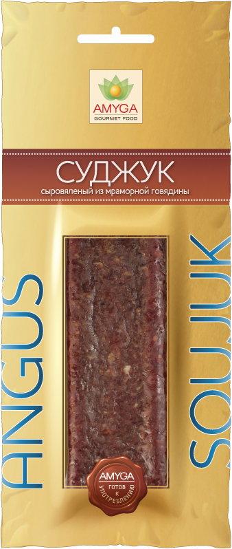 Amyga Суджук сыровяленый из мраморной Говядины, 80 г