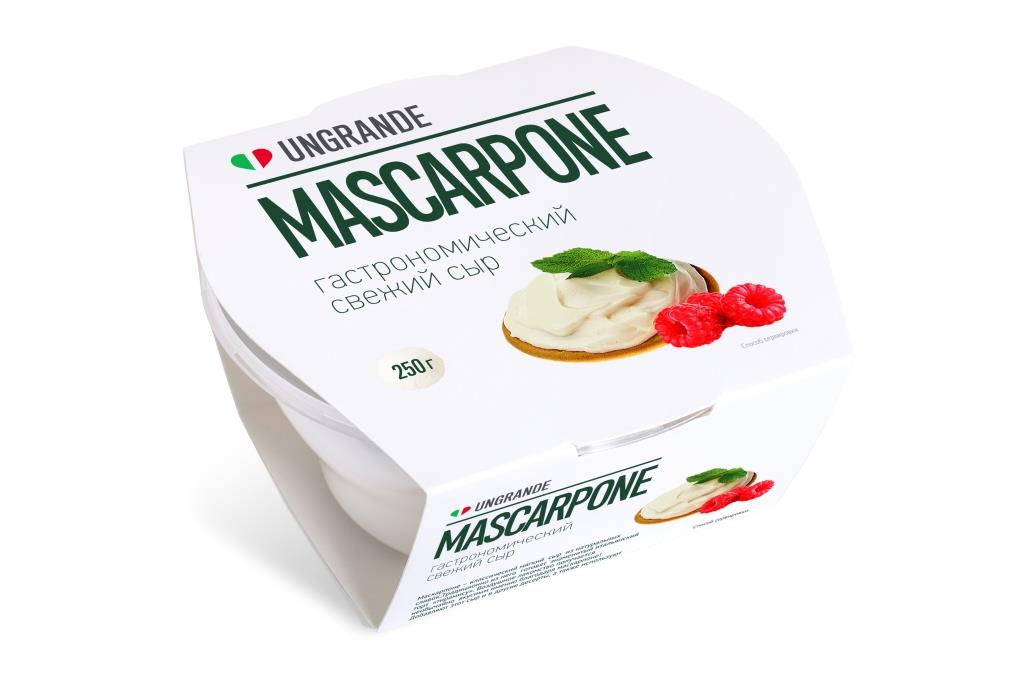 Unagrande Сыр Mascarpone 80%, 250 г жидкость сливки cover girl covergirl 3in1 810 30ml