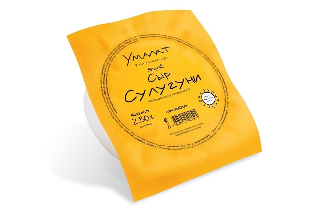 Умалат Сыр Сулугуни, 45%, 280 г диет марка отруби хрустящие пшеничные с морской капустой 200 г