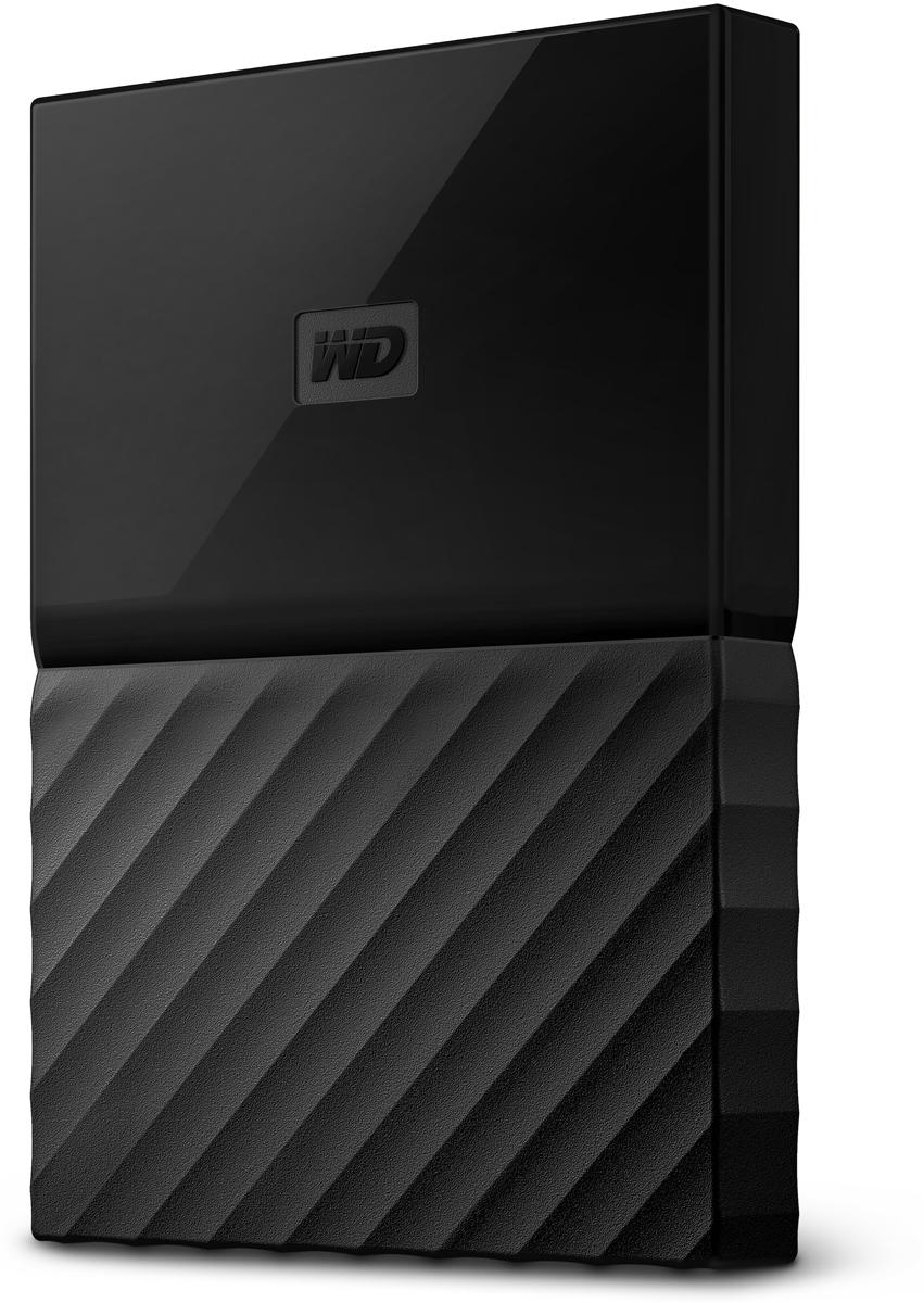 WD My Passport 2TB, Black внешний жесткий диск (WDBLHR0020BBK-EEUE)