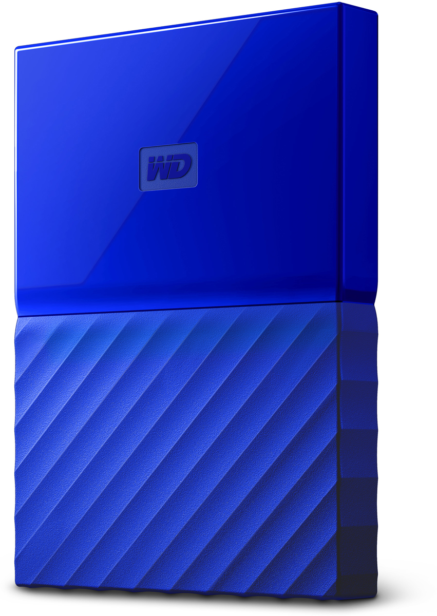 WD My Passport 2TB, Blue внешний жесткий диск (WDBLHR0020BBL-EEUE) внешний жесткий диск hdd western digital original usb 3 0 2tb wdbuax 0020 bbl eeue my passport