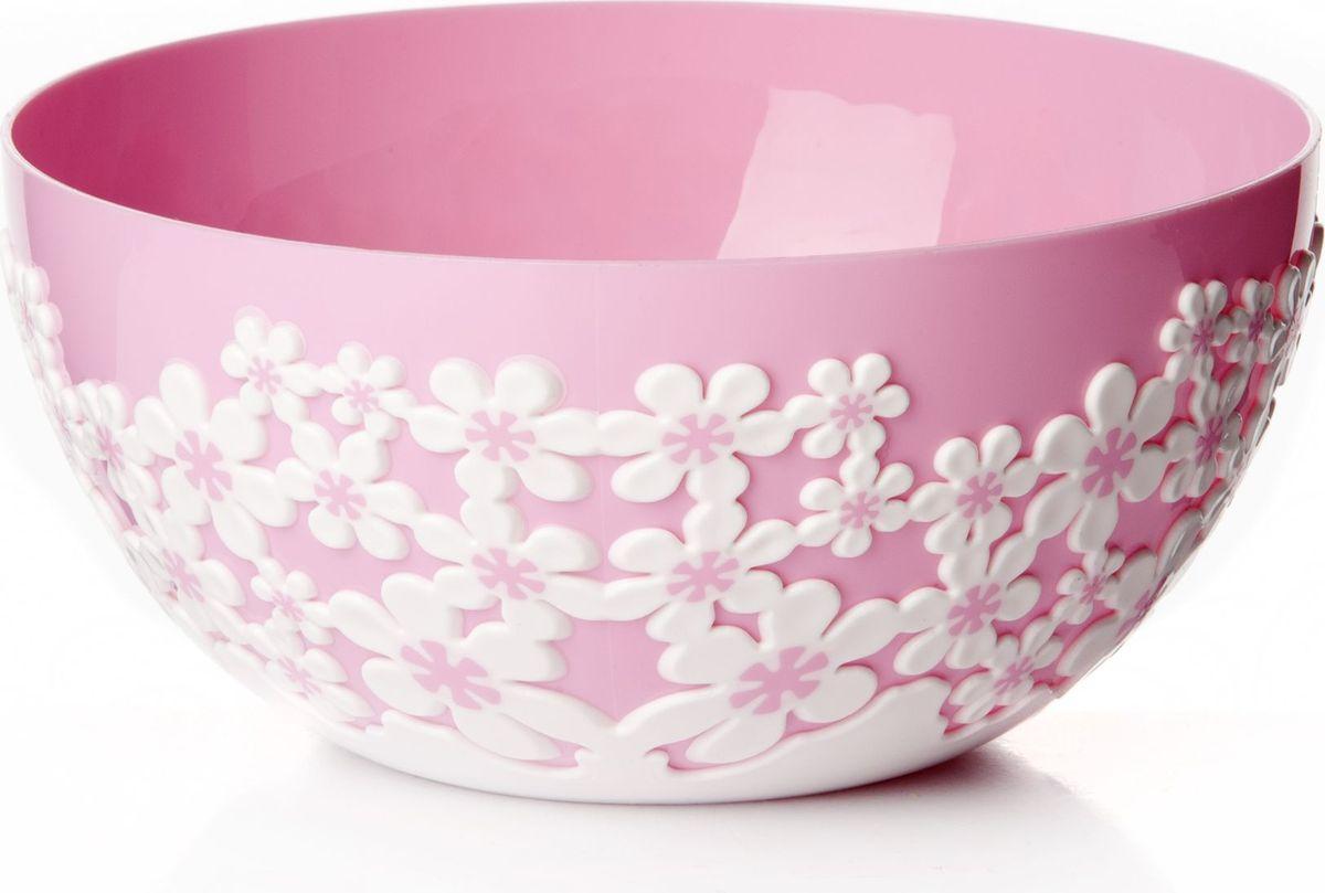 Оригинальный салатник Альтернатива, выполненный из высококачественного пластика, порадует вас изящным дизайном и практичностью. Внешние стенки салатника декорированы цветочным принтом. Изделие идеально подходит для сервировки салатов, фруктов, закусок и многого другого. Салатник Альтернатива украсит ваш кухонный стол и подчеркнет прекрасный вкус хозяйки.