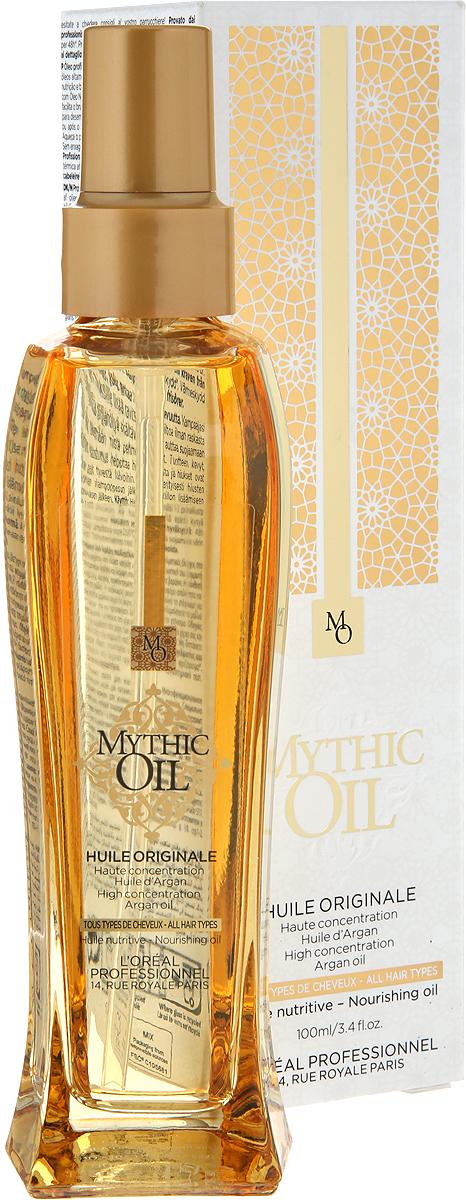 L'Oreal Professionnel Mythic Oil- Питательное масло для всех типов волос 100 мл масло для волос loreal professional питательное масло mythic oil loreal