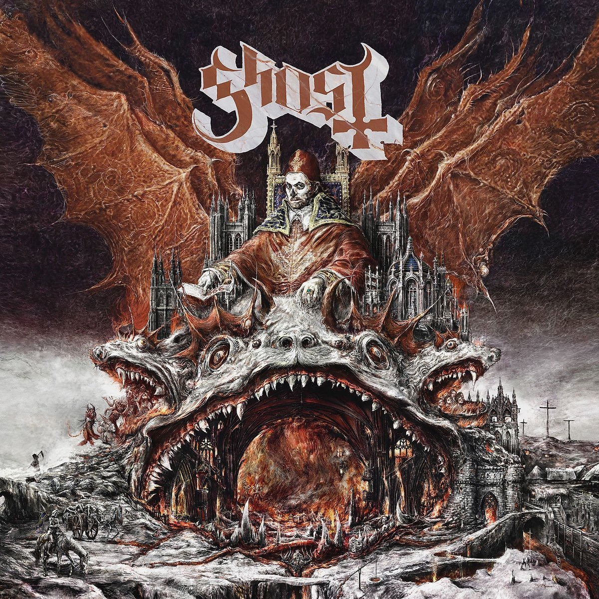 Ghost Ghost. Prequelle (LP) ghost ghost meliora