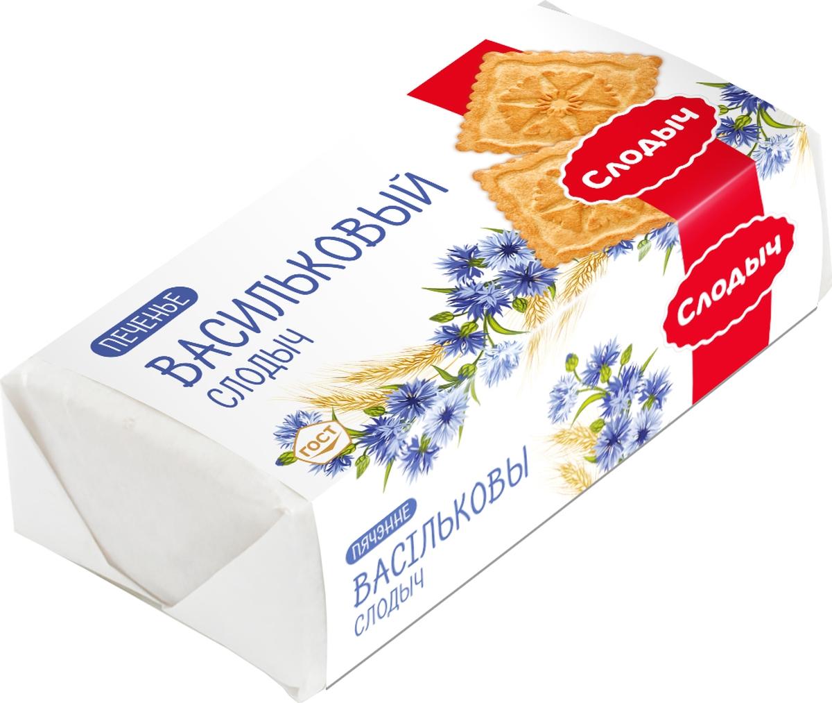 Слодыч Васильковый печенье, 100 г юбилейное печенье молочное 112 г