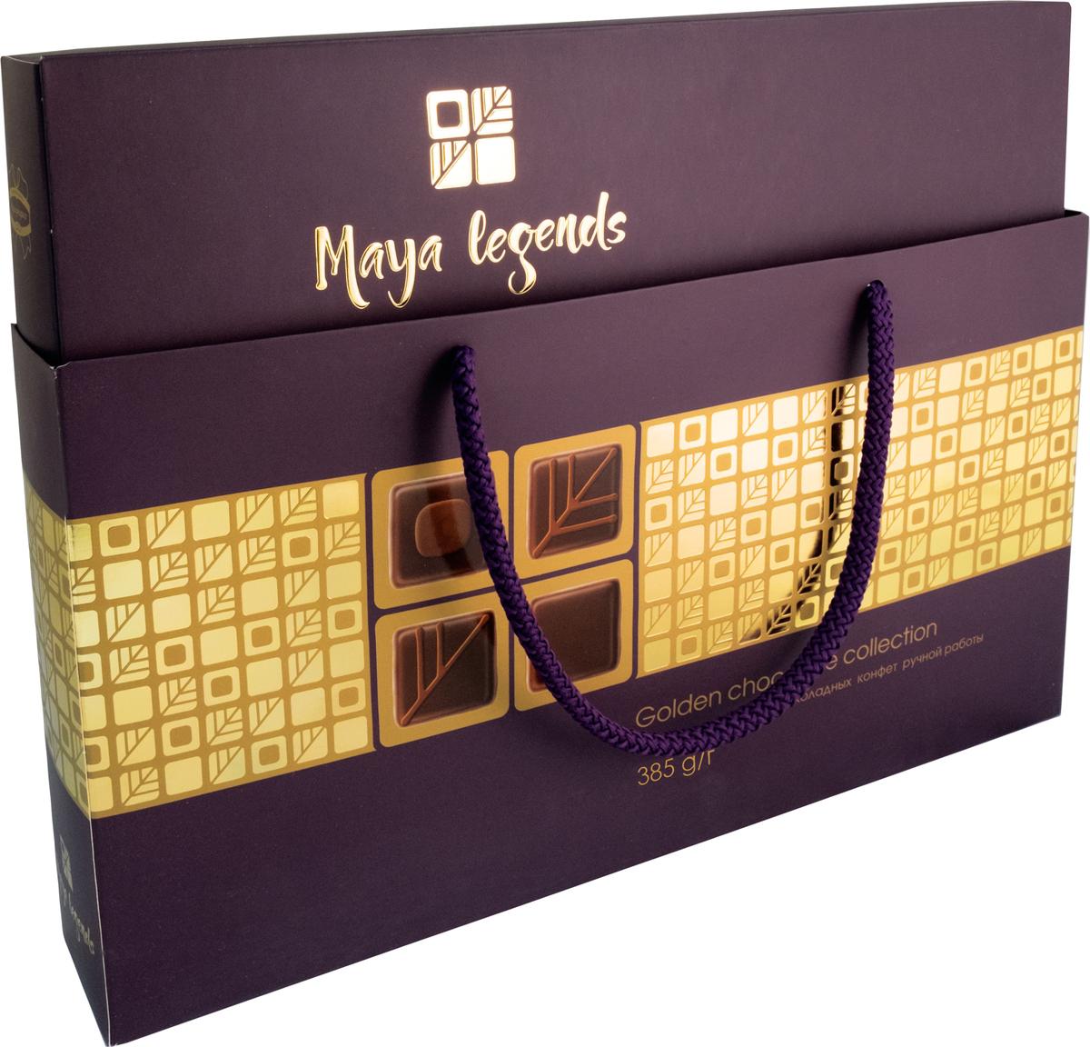 Коммунарка Легенды майя набор конфет цвет темный, 385 г веселый тоша конфеты вафельные глазированные со сгущенным молоком 250 г