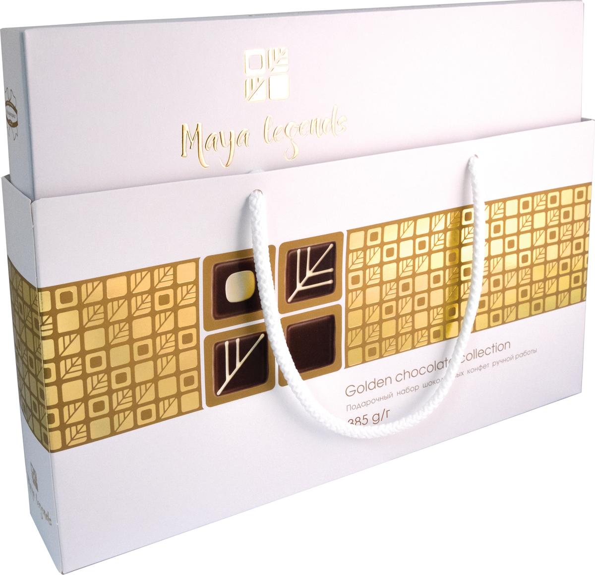 Коммунарка Легенды майя набор конфет цвет белый, 385 г славянка золотой степ конфеты 192 г